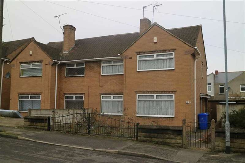 3 Bedrooms Semi Detached House for sale in 84, Princes Street, Mansfield, Notts, NG18