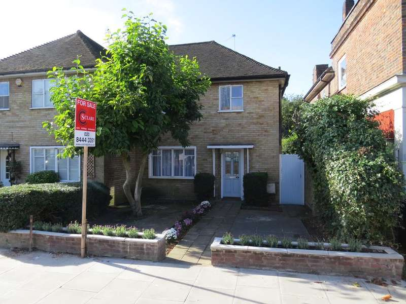 3 Bedrooms End Of Terrace House for sale in Ossulton Place, East End Road, East Finchley, London n2