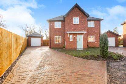 4 Bedrooms Detached House for sale in Old Orchard Place, School Lane, Moss Side, Leyland, PR26