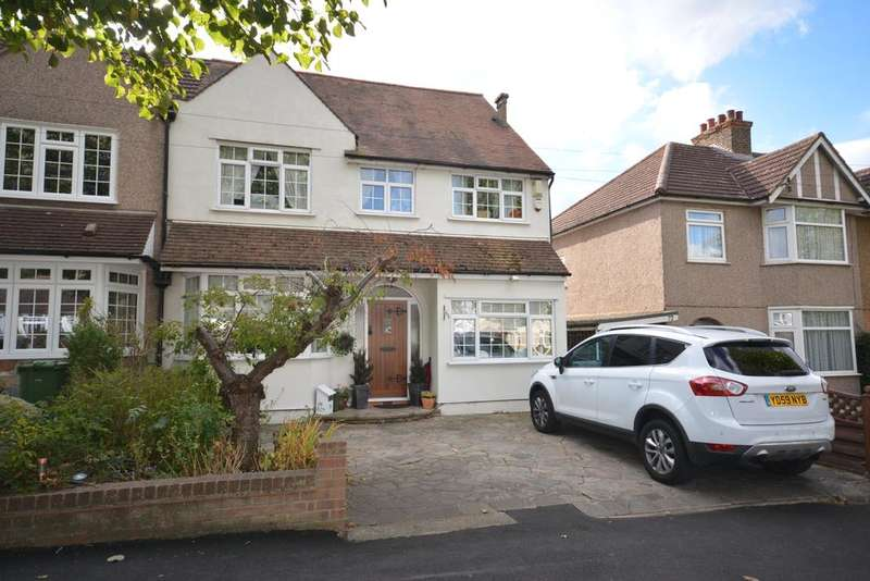3 Bedrooms Semi Detached House for sale in Shepherds Hill, Harold Wood, Romford, Essex RM3