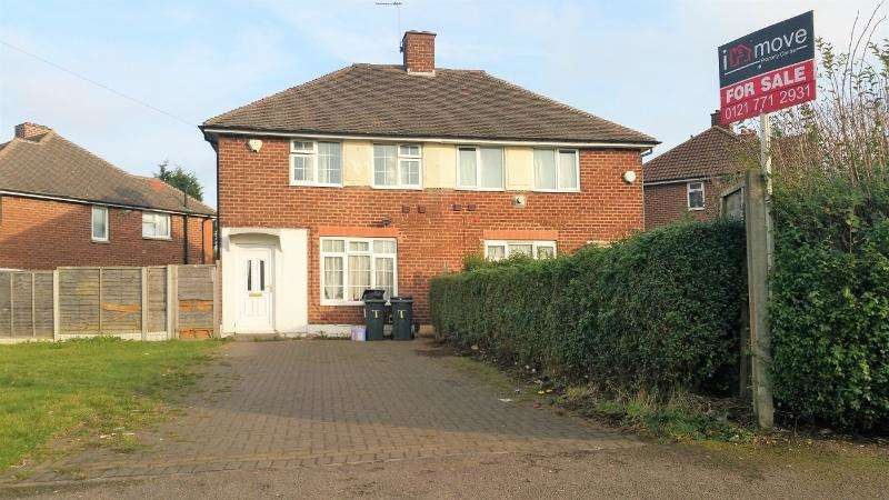 2 Bedrooms Semi Detached House for sale in Rudyard Grove, Kitts Green, Birmingham B33