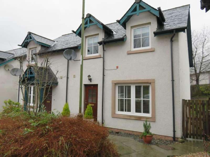 3 Bedrooms Semi Detached House for sale in Robertson Loan, Pitlochry PH16