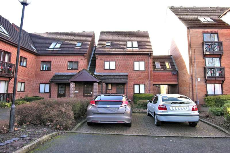 2 Bedrooms Duplex Flat for sale in PETER JAMES COURT, ASTONFIELDS, STAFFORD ST16