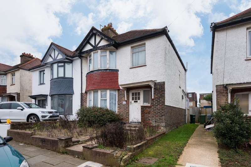 3 Bedrooms Semi Detached House for sale in Lullington Avenue, Hove BN3