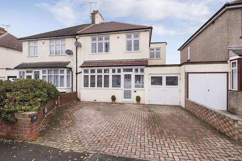 4 Bedrooms Semi Detached House for sale in Holmesdale Road Bexleyheath, Kent