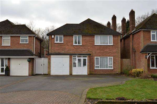 4 Bedrooms Detached House for sale in Northbrook Road, Shirley, Solihull