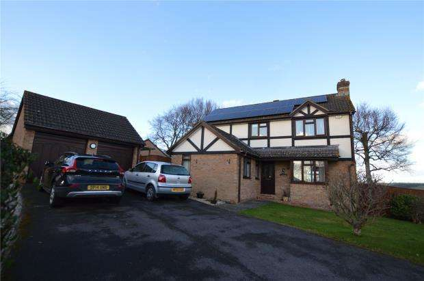4 Bedrooms Detached House for sale in Beech Park, Crediton, Devon