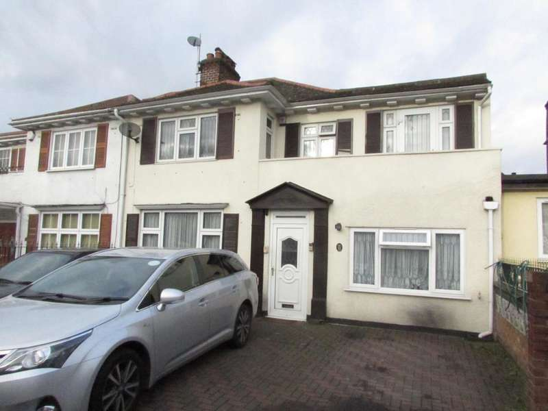 6 Bedrooms House for sale in Langdale Gardens, Perivale, Greenford, Middlesex UB6 8PG