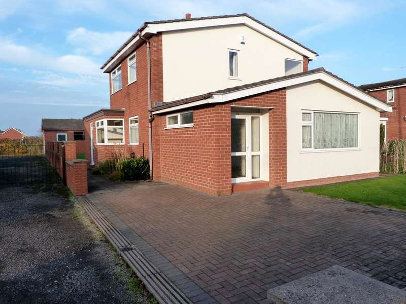 3 Bedrooms Detached House for sale in Danebank Avenue Crewe Cheshire