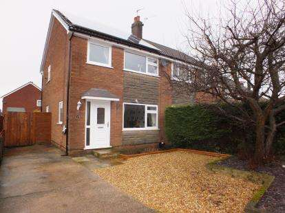 3 Bedrooms Semi Detached House for sale in St. Christines Avenue, Farington, Leyland