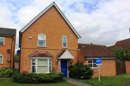 4 Bedrooms Detached House for sale in Pascal Drive, Medbourne, Milton Keynes, Buckinghamshire