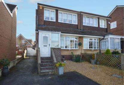 3 Bedrooms Semi Detached House for sale in Slaidburn Avenue, Chapeltown, Sheffield, South Yorkshire