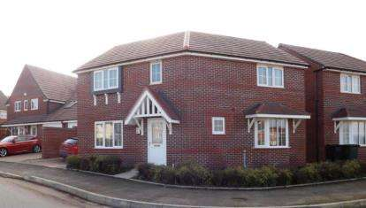 3 Bedrooms Detached House for sale in Sunset Way, Evesham, Worcestershire