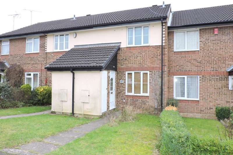 2 Bedrooms Terraced House for sale in Spayne Close, Luton, Bedfordshire, LU3 4BA