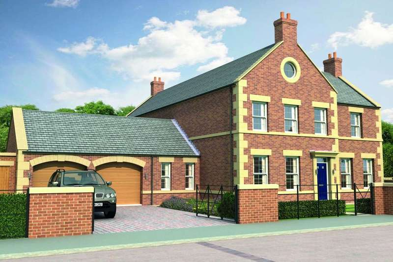 4 Bedrooms Detached House for sale in Brunton Square, Gosforth, Newcastle upon Tyne NE13