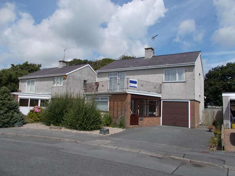 4 Bedrooms Detached House for sale in 6 LON CEREDIGION, PWLLHELI LL53