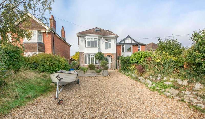 4 Bedrooms Detached House for sale in Satchell Lane, Hamble, Southampton SO31