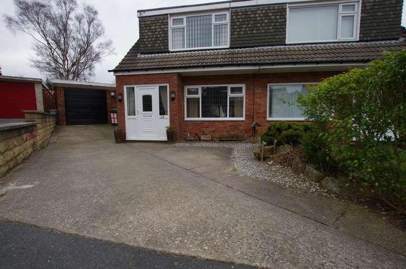 3 Bedrooms Semi Detached House for sale in Meadowbank Avenue, Bradford BD15 7BP