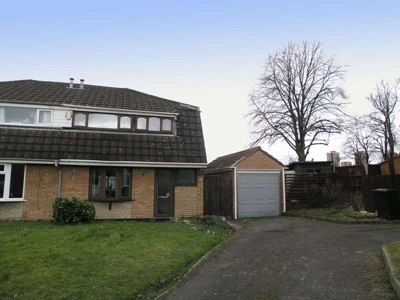 3 Bedrooms Semi Detached House for sale in BRIERLEY HILL, WITHYMOOR VILLAGE, Warner Drive