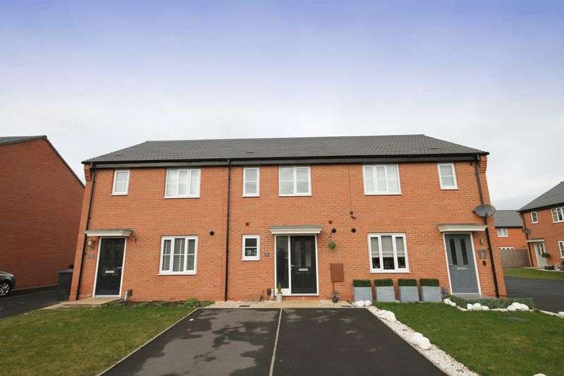 2 Bedrooms Terraced House for sale in LEVETTS CLOSE, STENSON FIELDS