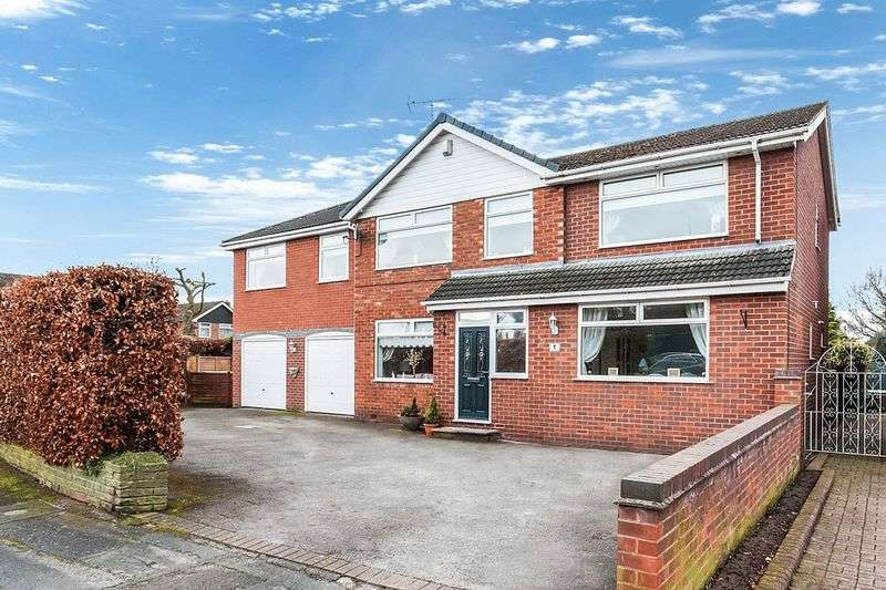 5 Bedrooms Detached House for sale in Cumberland Road, Congleton