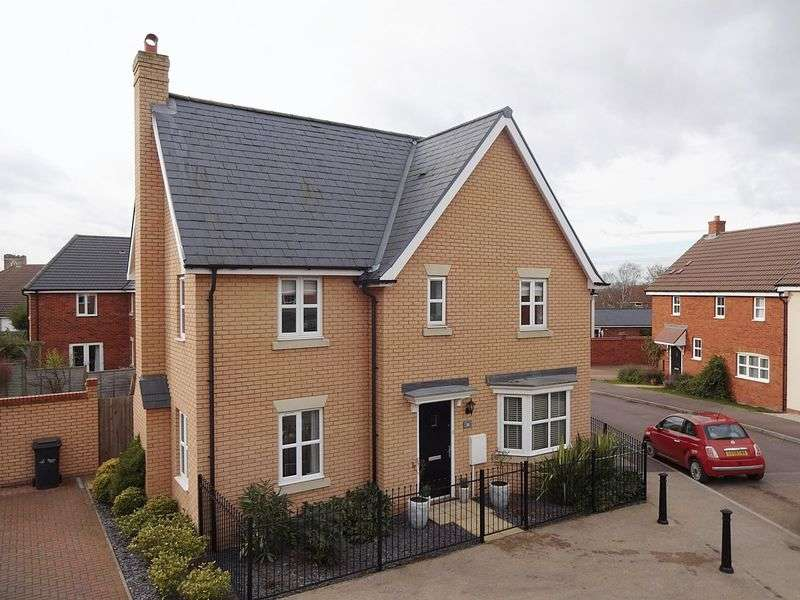 4 Bedrooms Detached House for sale in Ridge View, Houghton Conquest