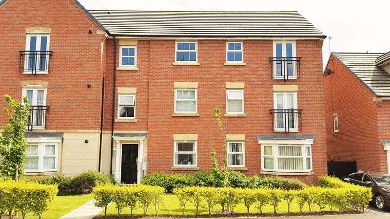 2 Bedrooms Property for sale in Courtier Close, Liverpool