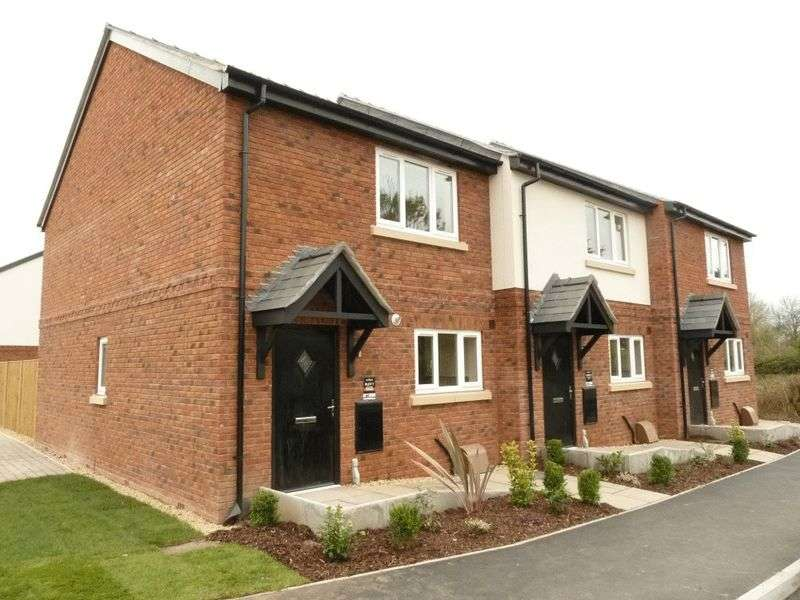 3 Bedrooms Terraced House for sale in Rowan House, Heathview Court, Old Chester Road, Nr Malpas SY14 8DY