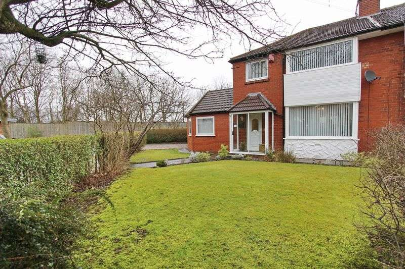 4 Bedrooms Semi Detached House for sale in Warwick Close, Whitefield, Manchester