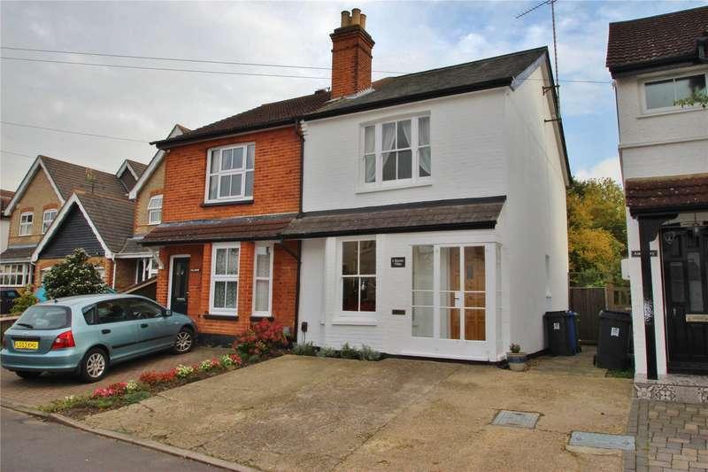 3 Bedrooms Semi Detached House for sale in Kerton Villas, Bury Lane, Woking, Surrey, GU21