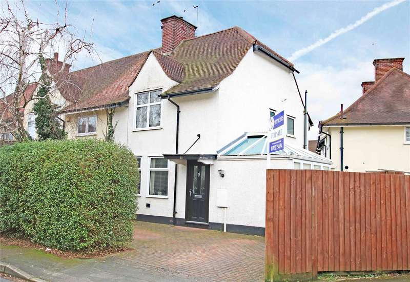 2 Bedrooms End Of Terrace House for sale in Dawson Road, Byfleet, West Byfleet, Surrey, KT14