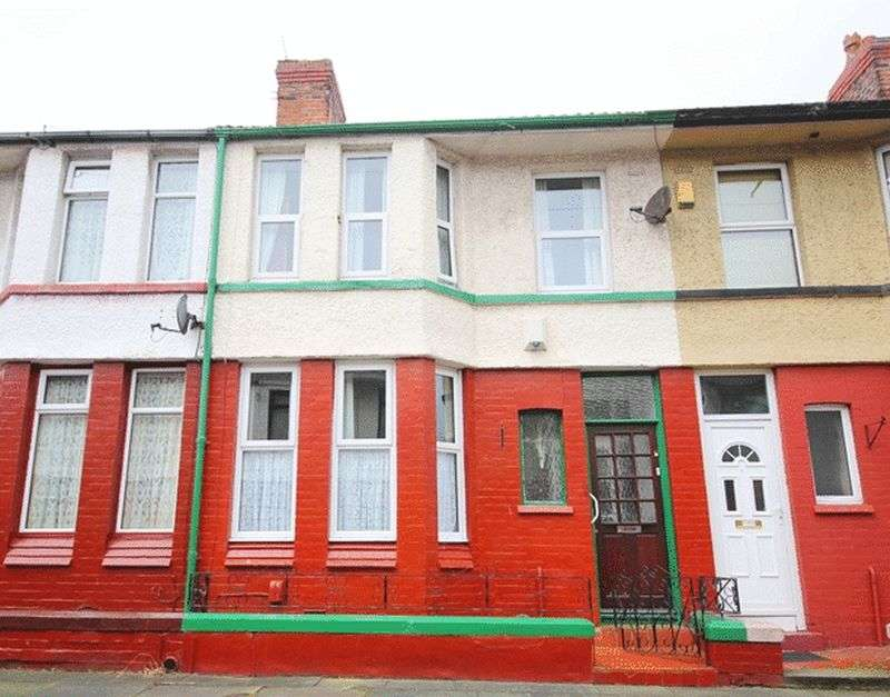 3 Bedrooms Terraced House for sale in Frogmore Road, Old Swan, Liverpool, L13