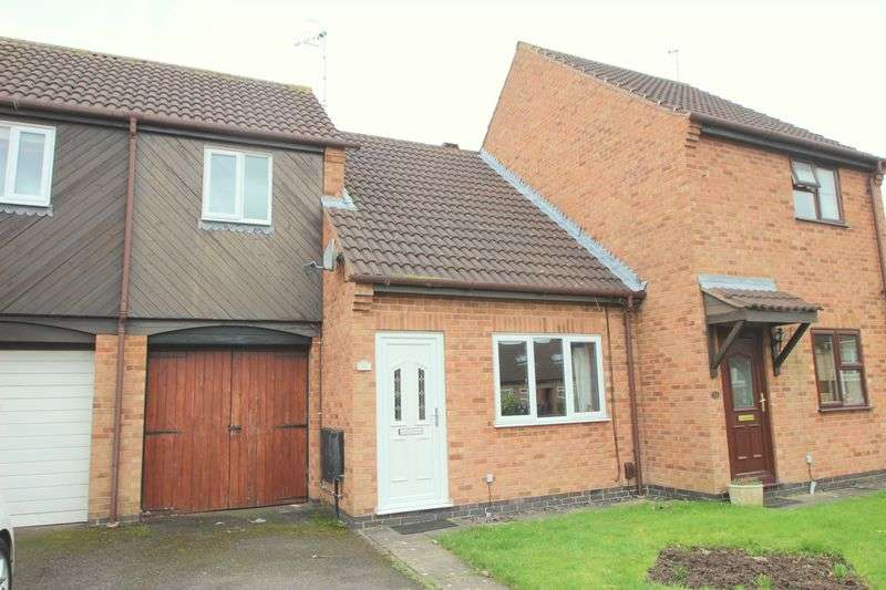 2 Bedrooms Terraced House for sale in Foxtail Close, Stratford-Upon-Avon