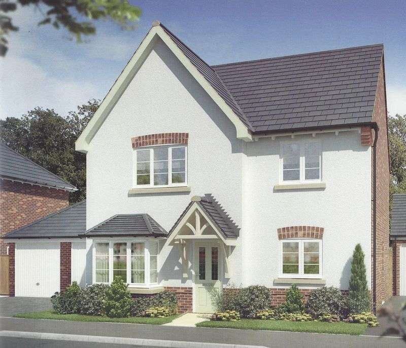 4 Bedrooms Detached House for sale in Plot 19 The Birchover, Ashbourne