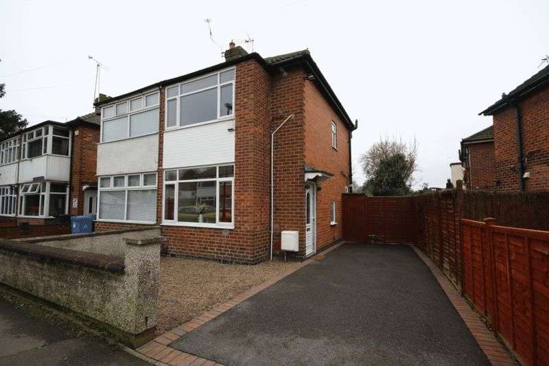 2 Bedrooms Semi Detached House for sale in THE CRESCENT, CHADDESDEN