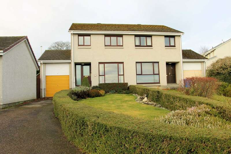 3 Bedrooms Semi Detached House for sale in Craigard Terrace, Inverness