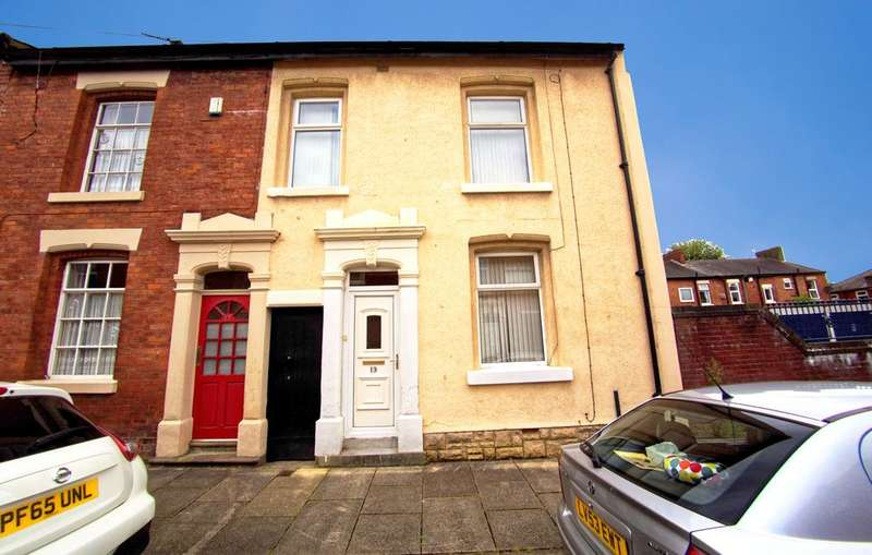 3 Bedrooms End Of Terrace House for sale in Elmsley Street, Preston PR1