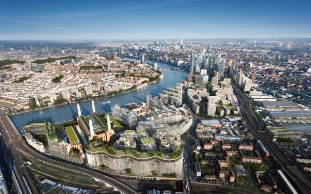 3 Bedrooms Flat for sale in Battersea Power Station, Ambrose House