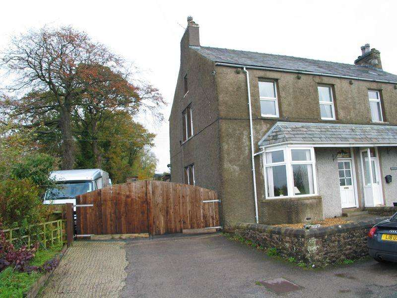 5 Bedrooms Semi Detached House for sale in Far Westhouse, Nr Ingleton, Carnforth, Lancs LA6