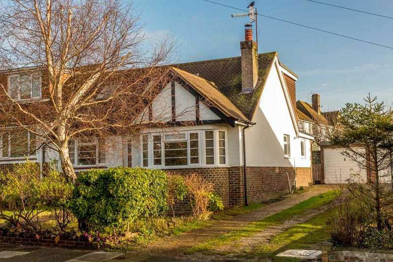 4 Bedrooms Semi Detached House for sale in Eley Drive, Rottingdean, Brighton BN2