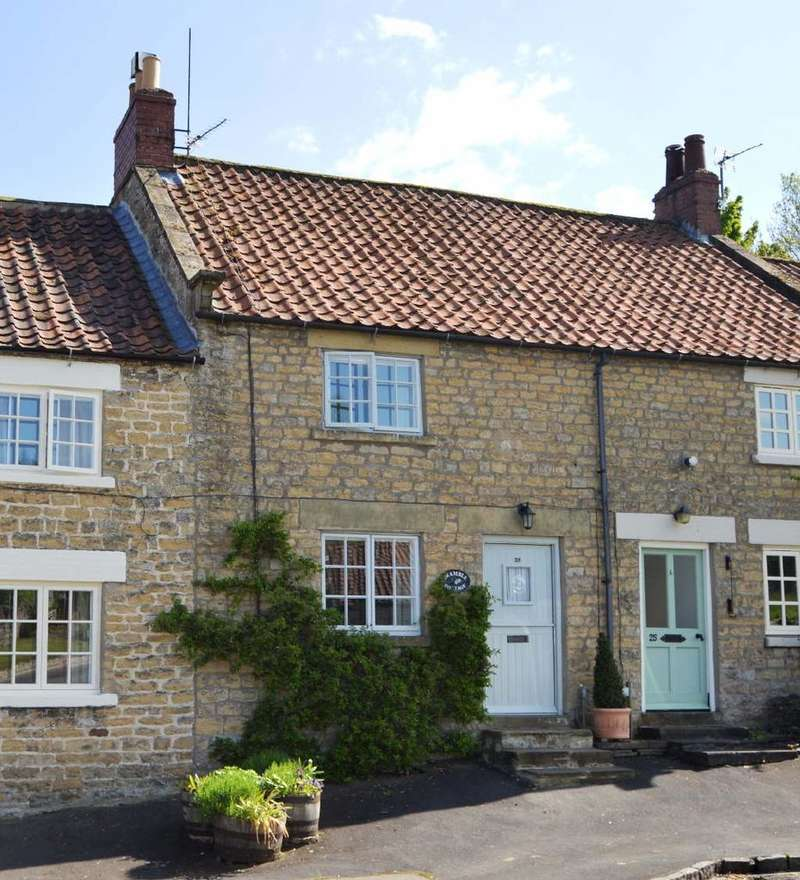 2 Bedrooms Terraced House for sale in High Street, Helmsley YO62