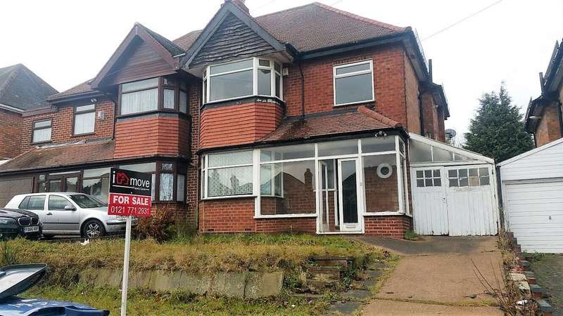 3 Bedrooms Semi Detached House for sale in Eastbourne Avenue, Hodge Hill, BIRMINGHAM B34