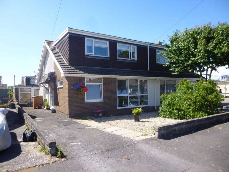 4 Bedrooms Semi Detached Bungalow for sale in Cheltenham Road, Nottage, Porthcawl cf36