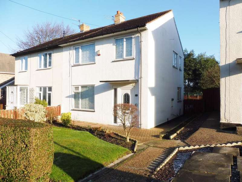 3 Bedrooms Semi Detached House for sale in Derry Grove, Thurnscoe, Rotherham, South Yorkshire S63