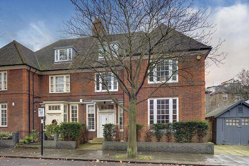 5 Bedrooms Semi Detached House for sale in GLENILLA ROAD, BELSIZE PARK, LONDON NW3