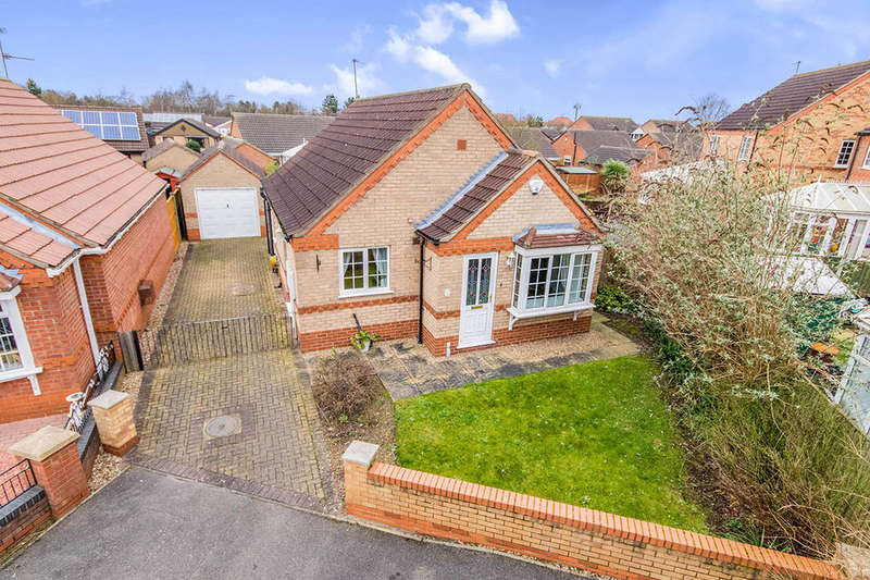 2 Bedrooms Detached Bungalow for sale in Cadwell Close, Lincoln, LN6
