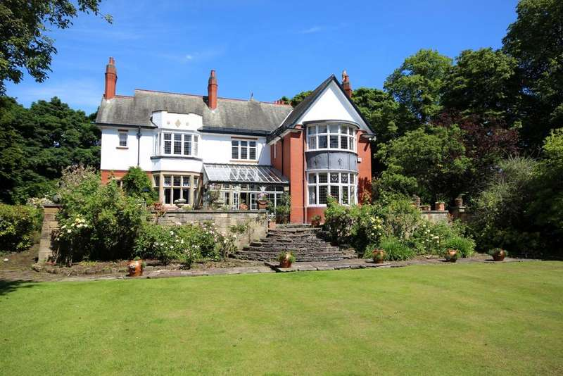 6 Bedrooms Detached House for sale in Nook House, Jesmond Park East, Newcastle upon Tyne NE7