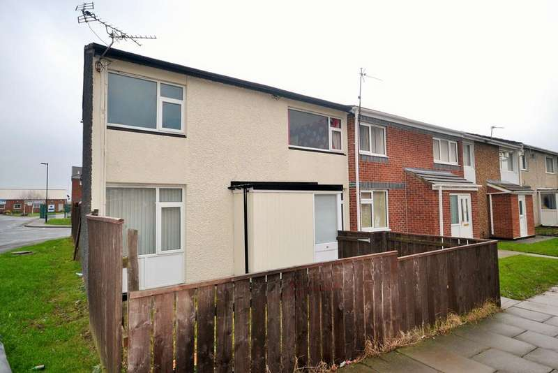 2 Bedrooms Semi Detached House for sale in Keilder close, Redcar TS10