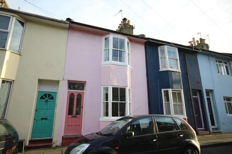 2 Bedrooms Terraced House for sale in Washington Street, Brighton BN2