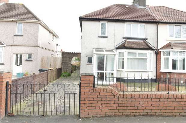 2 Bedrooms Semi Detached House for sale in Nash Road, NEWPORT